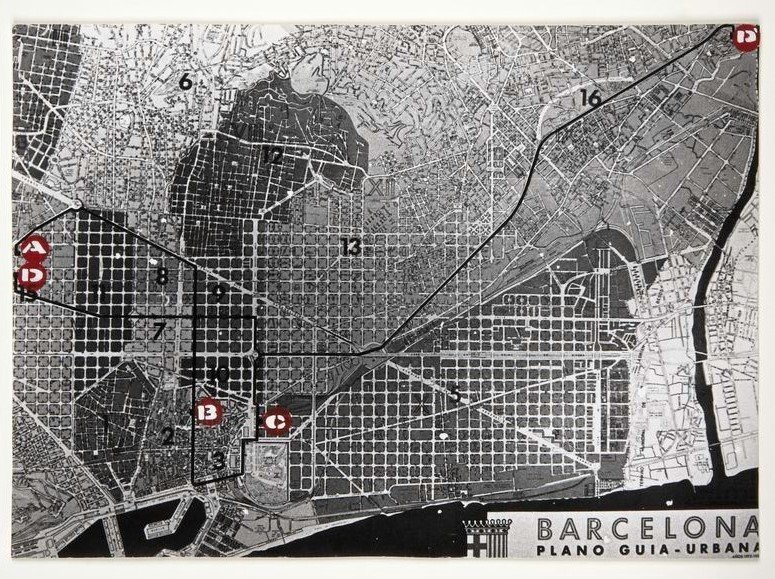Itineraries. Collective Work of Barcelona