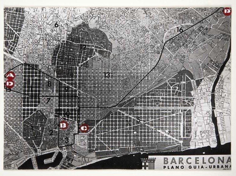Recorreguts. Treball col·lectiu de Barcelona