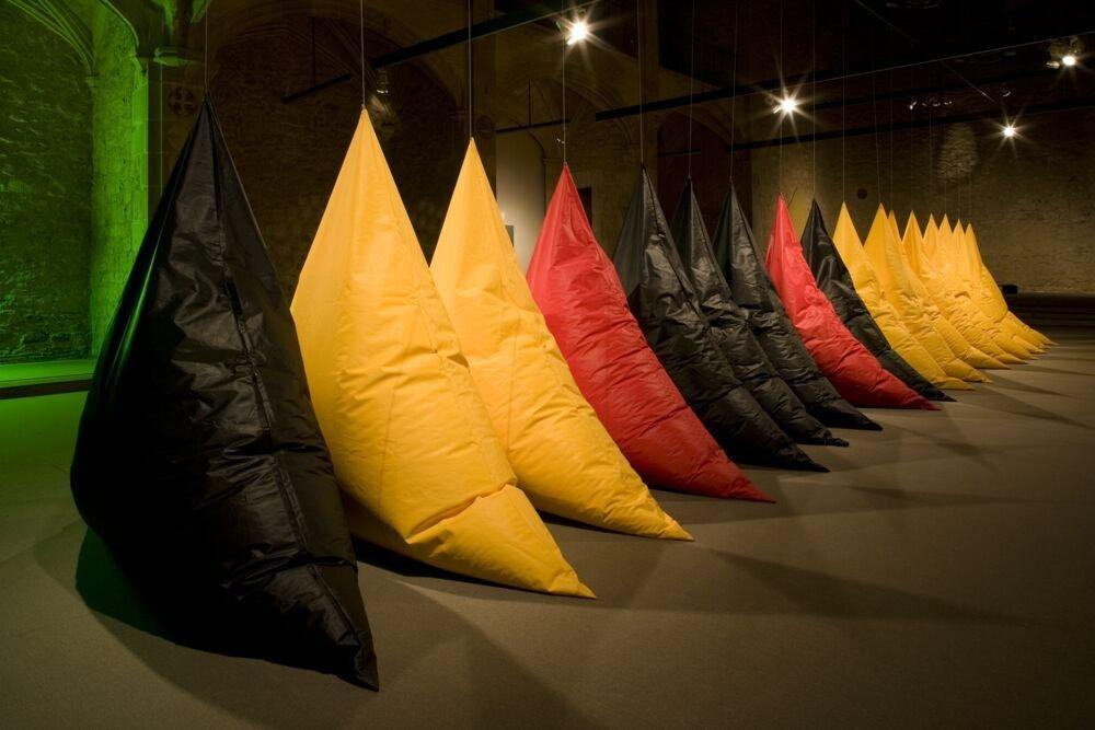 Escultura a l'interior de la Galeria Maeght