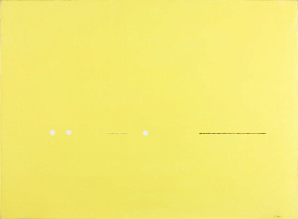 Cuadro en amarillo
