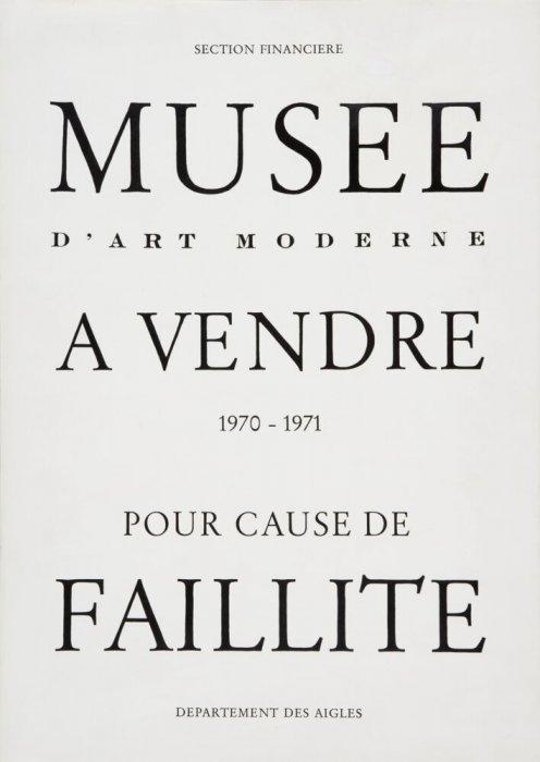 Museu d'Art Modern a la venda - per fallida