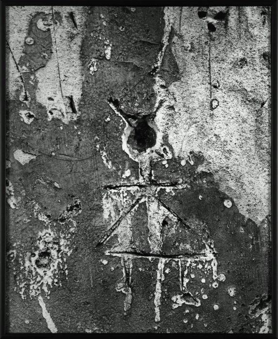 "Little Goblin in the Triangular Skirt. Graffiti Series IX: ""Primitive Images"""