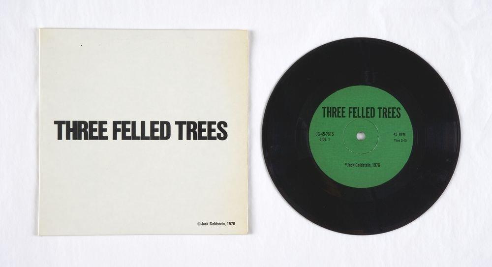 Tres arbres talats