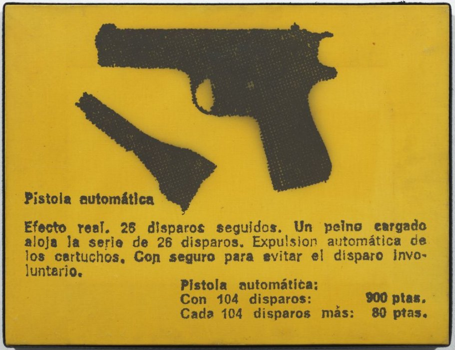 Pistola automática (de la serie Spain is different)