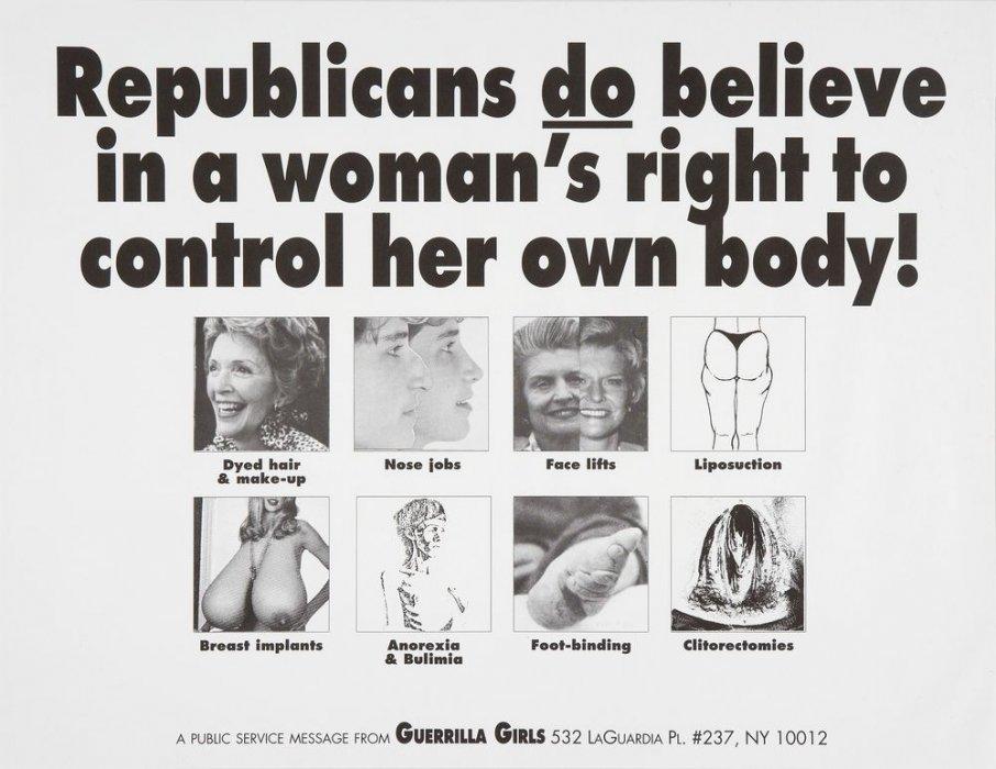 Els republicans sí que creuen en el dret de la dona a controlar el seu propi cos!