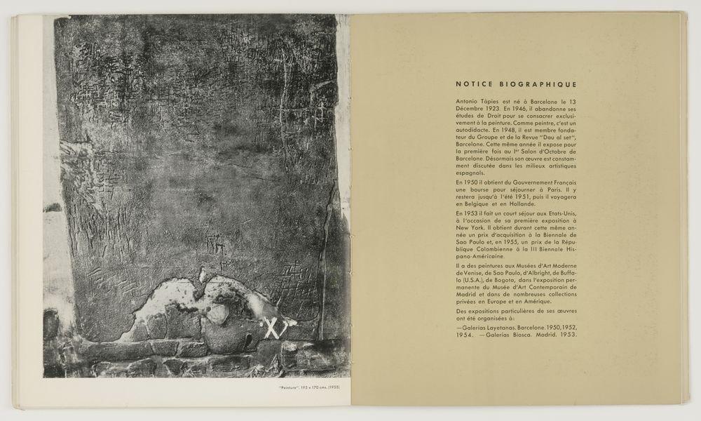 Revista Dau al Set. Antoni Tàpies
