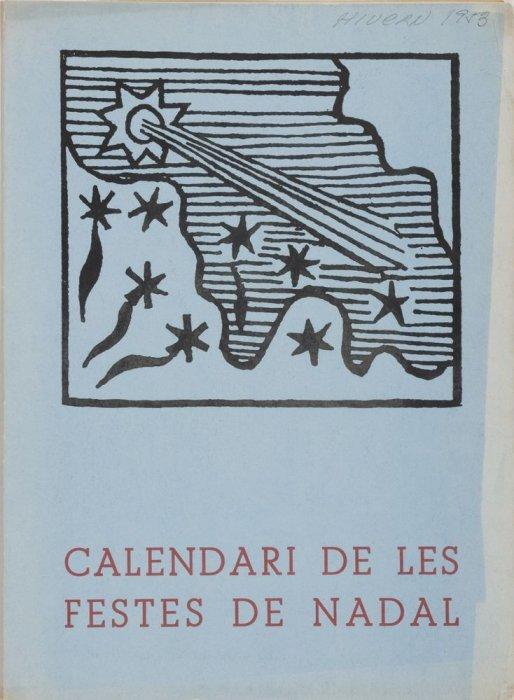 Dau al Set Magazine. Christmas Holiday Calendar