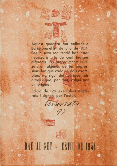 'Revista Dau al Set. Collages y maculaturas (negro)