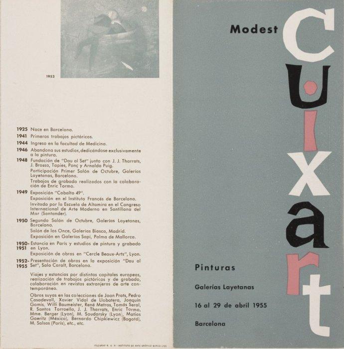 Revista Dau al Set. Modest Cuixart