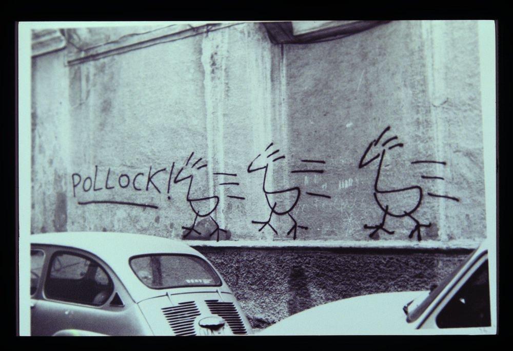 Homenatge a Jackson Pollock