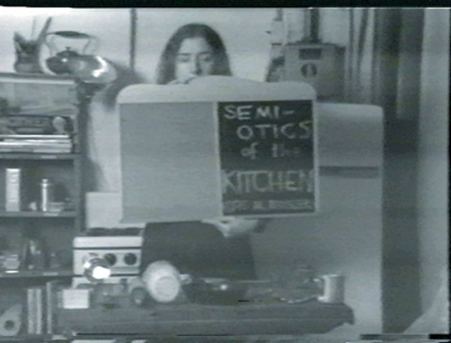 Semiotics of the Kitchen