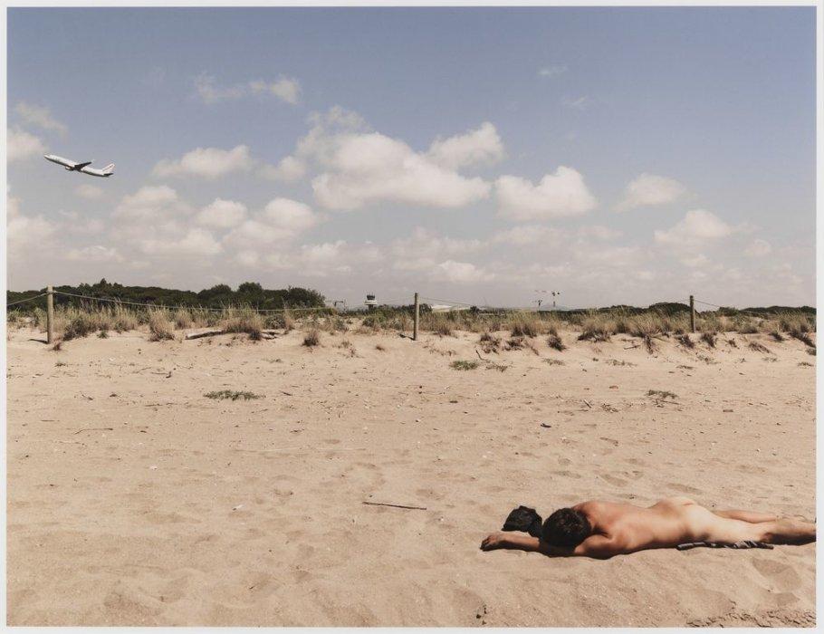 "Ricarda Beach, El Prat de Llobregat. Series: ""Global Connections"""