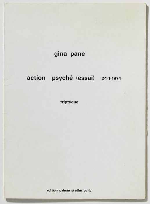 Psyche Action (trial) 24-1-1974 Triptych