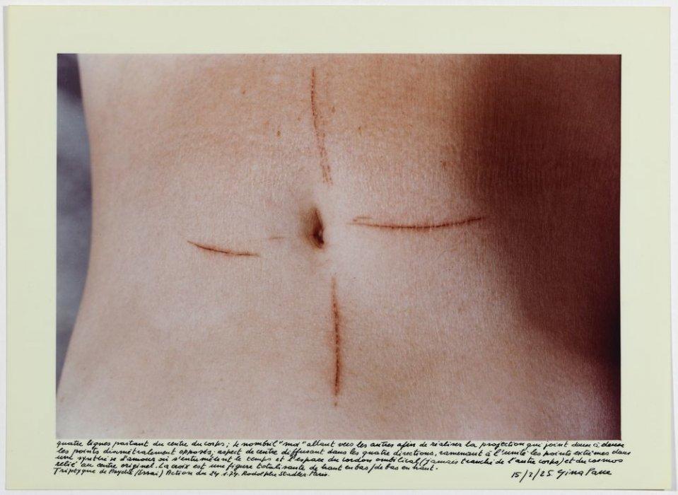 Acción psique (ensayo) 24-1-1974 tríptico
