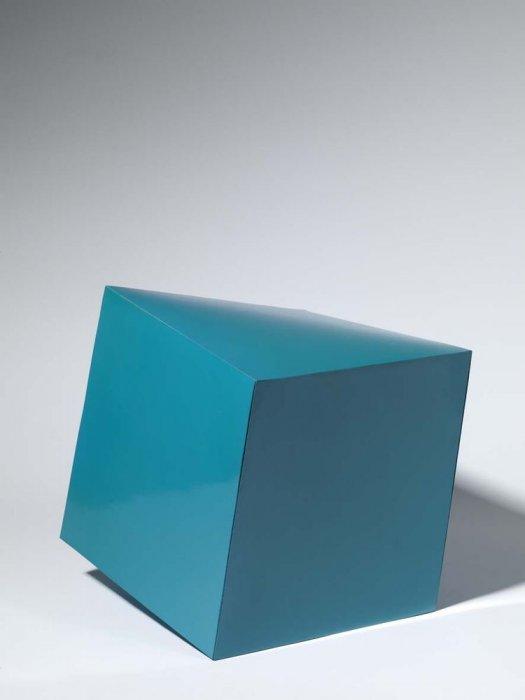 Cubo deformado II. Prototipo para una edición ilimitada