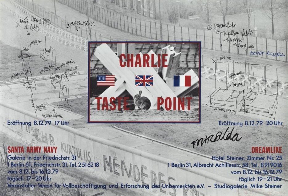 "(""Charlie taste point"" Berlin)"