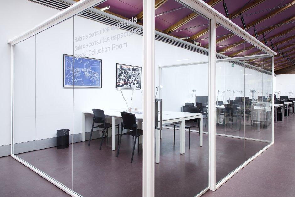 Biblioteca - Sala de consultas especiales