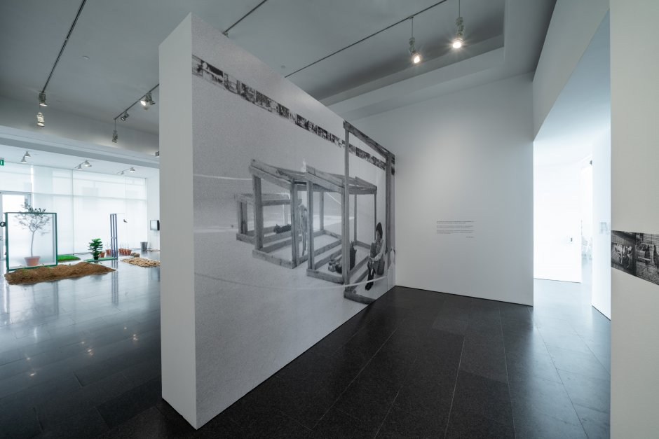 """""""Fina Miralles: I Am All the Selves that I Have Been"""" exhibition views. Photo: Miquel Coll"""