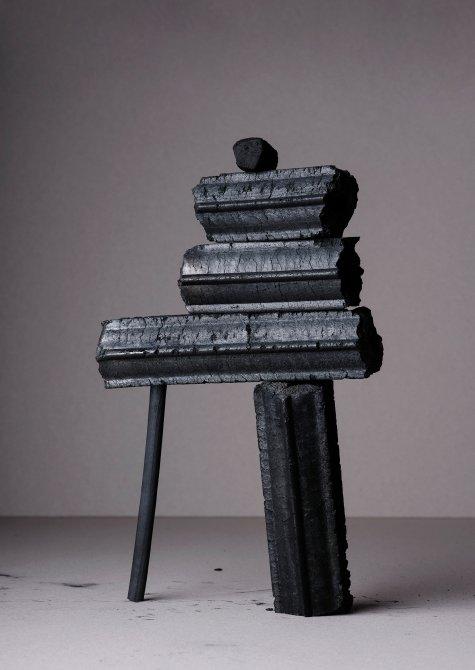 Charcoal, Apartamento Still Lifes, Ana Domínguez