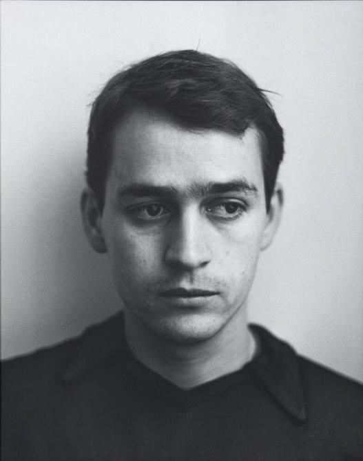 """Javier Anguera, calle Rec, Barcelona. Febrer 1996. Serie: """"La ciudad de la gente"""""""