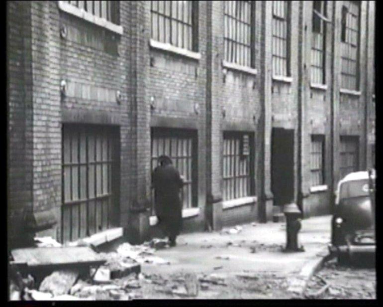 """Samuel Beckett """"Film"""", 1965 (filmstill)"""