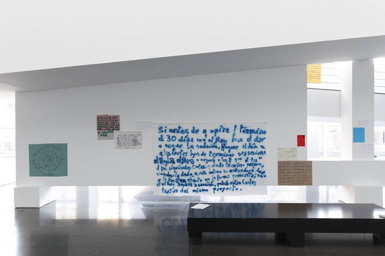 "Isidoro Valcárcel Medina ""Constitución 1812"", 2012"