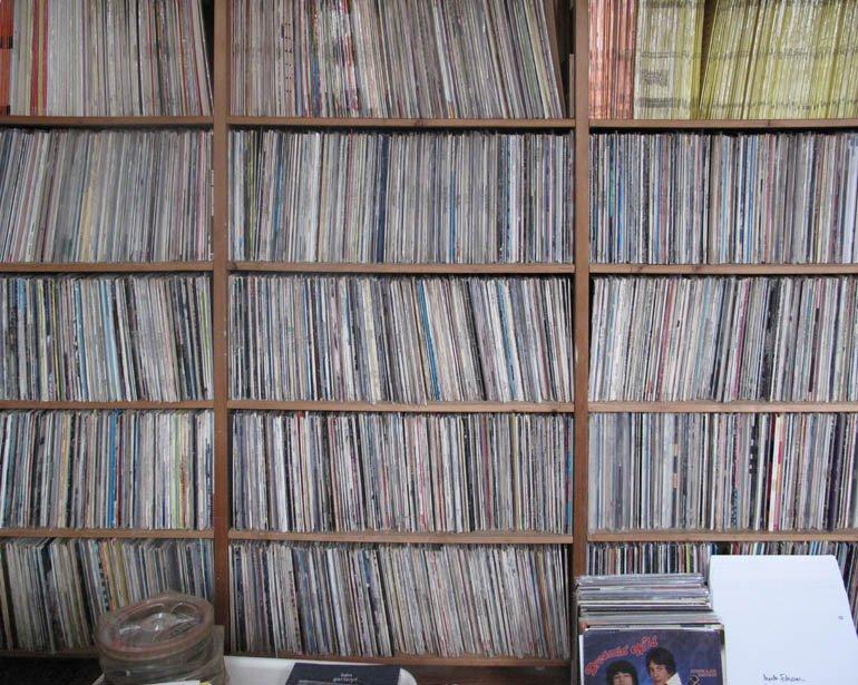 """Vista de la colección  """"Library Music"""" de Jonny Trunk"""