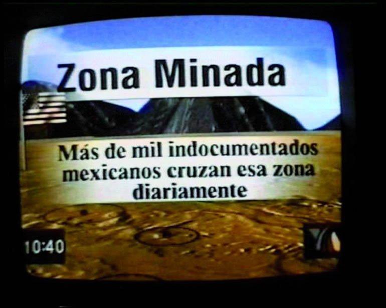 "Ursula Biemann ""Performing the Border"", 1999"