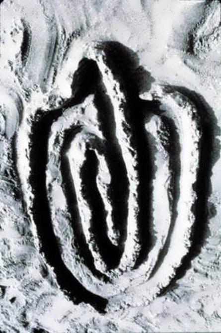 Ana Mendieta 'Sandwomen', 1983