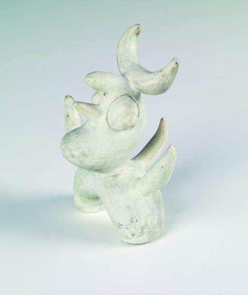 """Joan Miró """"Sense títol (Ocell lunar)"""""""