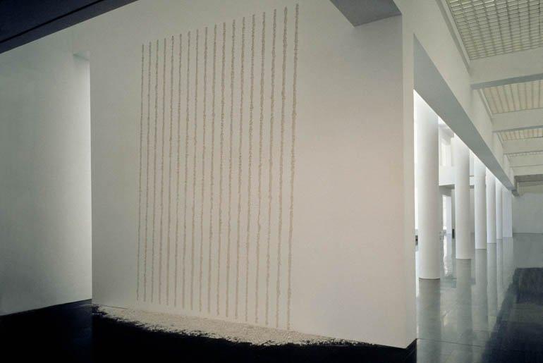 "Terry Smith ""Eighteen Parallel Lines (Tilted)"", 1996"