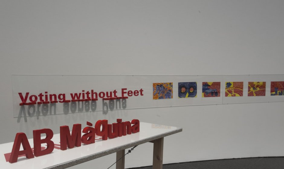 """""""Work, Power and Control. Critic Episodes (1957-2011). MACBA Collection"""" exhibition view, 2012-2013"""