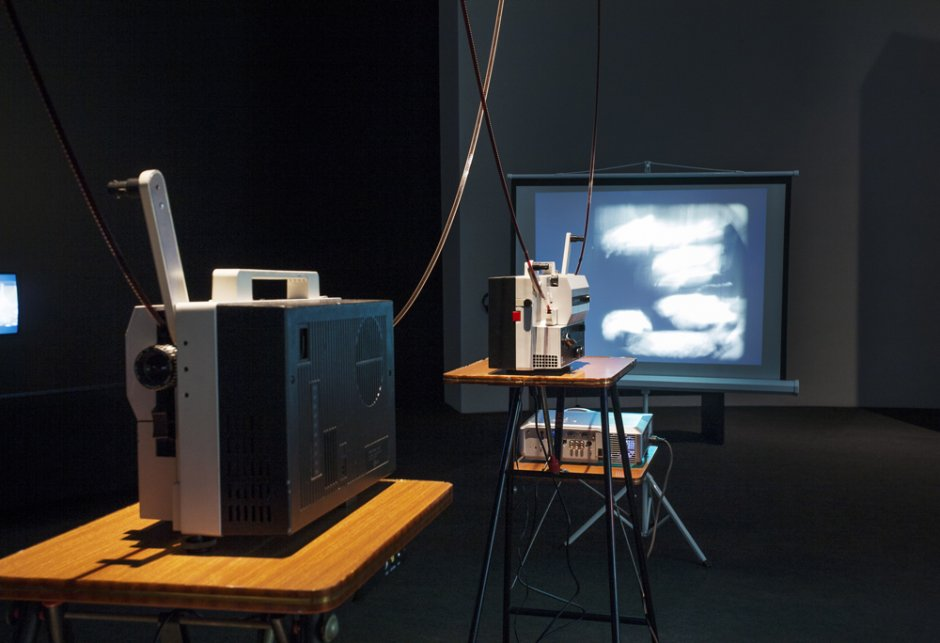 'The Listening Eye. Eugeni Bonet: Screens, Projections, Writings' exhibition views, 2014