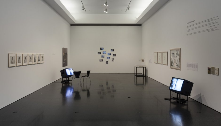 Exhibition view of 'The Immaterial Legacy. An Essay on the Collection'. Photo: Rafael Vargas