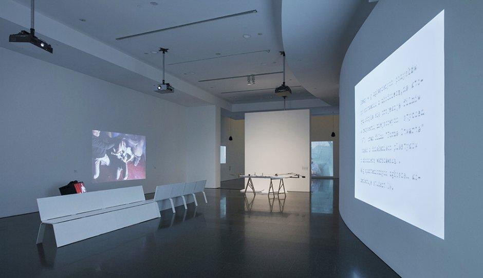 'Oskar Hansen. Open Form' exhibition views, 2014