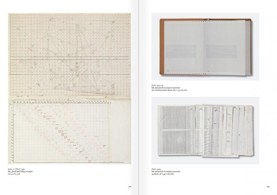 """Selección del catálogo """"Art & Language. Incompleto"""", páginas 108 y 109"""