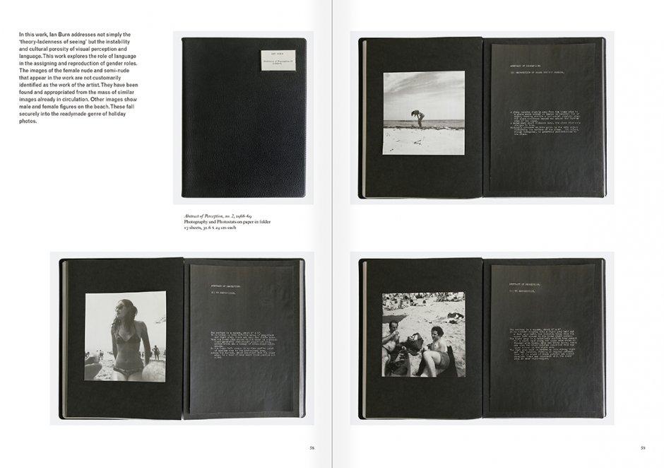 """Selecció del catàleg """"Art & Language. Incomplet"""", pàgines  58 i 59"""