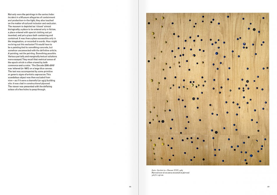 Selection from the catalogue 'Art & Language. Uncompleted', pages  68 and 69