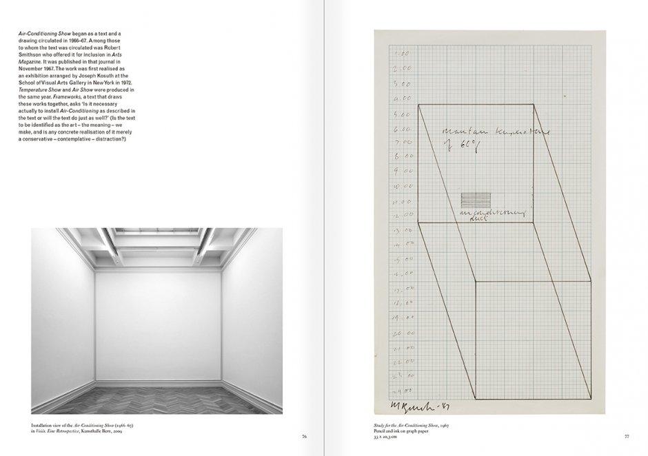 """Selección del catálogo """"Art & Language. Incompleto"""", páginas 76 y 77"""