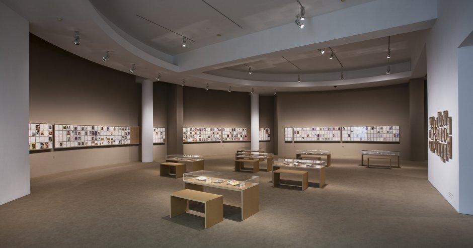 Vistas de la exposición 'Osvaldo Lamborghini. Teatro proletario de cámara', 2015. Foto: La Fotogràfica
