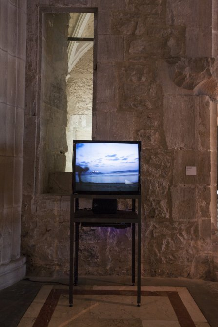 'Sigalit Landau. Phoenician Sand Dance' exhibiton views, 2015. Photo: La Fotogràfica