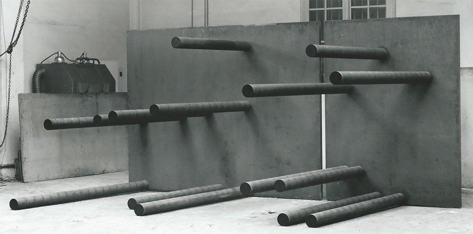 "Sergi Aguilar ""Nord-Sud"", 1991 Photo: Martí Gasull"