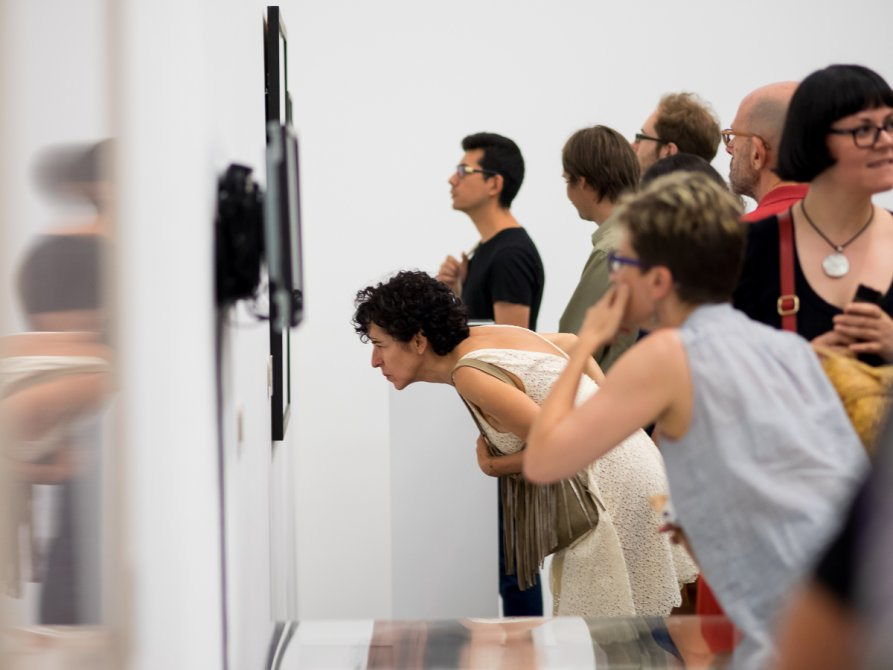 'Species of Spaces' exhibition views, 2015. Photo: Miquel Coll