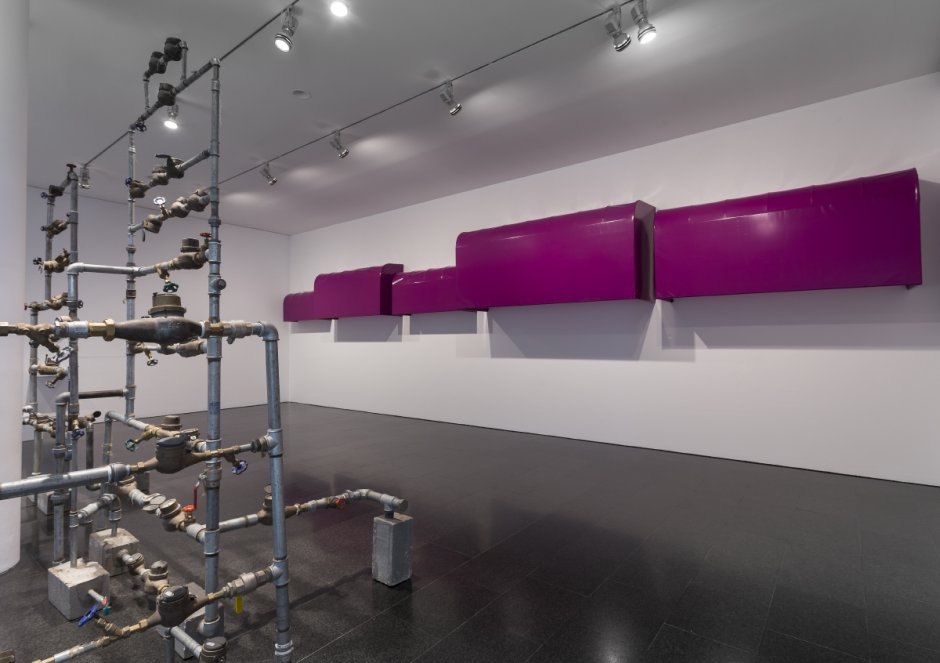 'Desires and necessities' exhibition views, 2015. Photo: Rafael Vargas