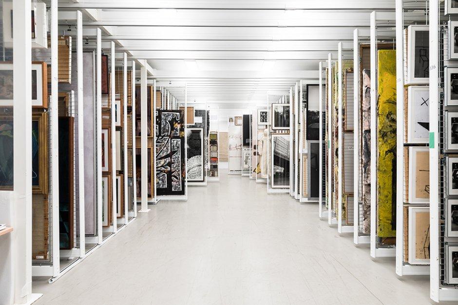 Reserves de obra Bidimensional. Foto Miquel Coll