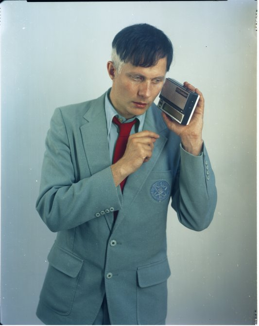 Felix Kubin. Photo: Greg Holm