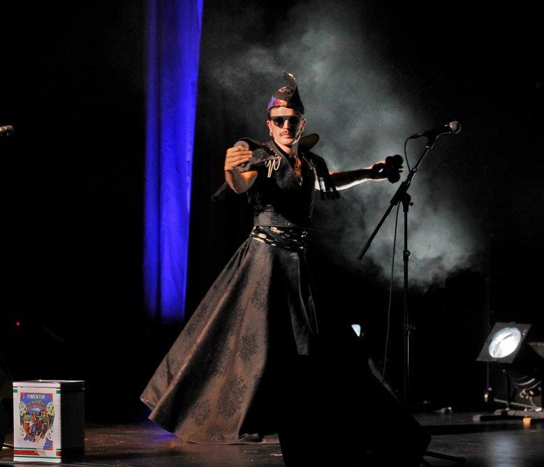 Rodrigo Cuevas, directo. Foto: Alberto Morante