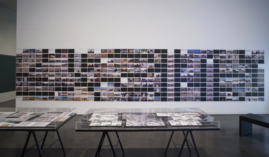 'Forensic Architecture. Towards an Investigative Aesthetics' exhibition views, 2017. Photo: La Fotogràfica