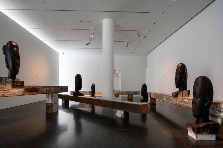 """Vistas de l'exposició """"Jaume Plensa"""", 2018"""