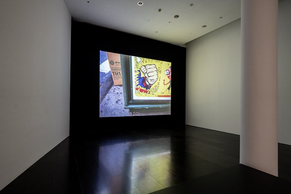 'Christian Marclay: Compositions', exhibition views, 2019